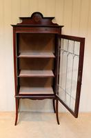 Edwardian Mahogany Display Cabinet (5 of 10)