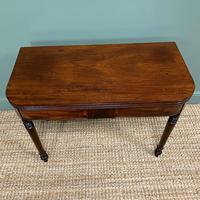Elegant Regency Mahogany Antique Tea / Side Table (2 of 7)