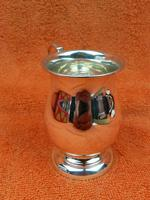 Vintage Sterling Silver Hallmarked Cup Mug 1966 (8 of 8)