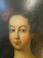 18th C Portrait of a Lady Oil on Canvas (2 of 7)