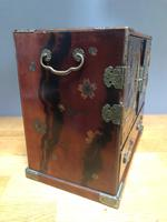Antique Oriental Lacquered Table Cabinet (7 of 11)