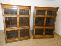 Pair of Oak 1920s Bookcases (12 of 12)
