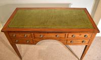 Regency Mahogany Writing Table Desk (3 of 8)