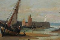 Boats in the harbour by James Webb (4 of 8)