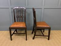 Set of 8 Mahogany Chippendale Style Dining Chairs (13 of 13)