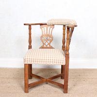 Georgian Corner Elbow Chair Beech (2 of 10)