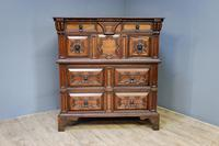 20th Century Oak Moulded Chest (3 of 7)