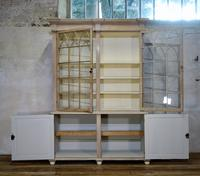 19th Century Gothic Bleached Pine Cabinet - Bookcase (8 of 15)