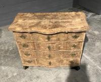 Early 19th Century Bleached Walnut Commode Chest of Drawers (2 of 13)