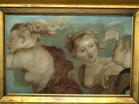 """Interesting Mythology 17th Century Painting """"The Three Graces"""" Aglaea, Euphrosyne & Thalia (2 of 12)"""
