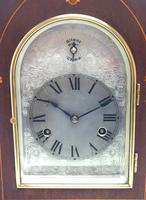 Antique German Quarter Chiming Mantel Clock (3 of 11)