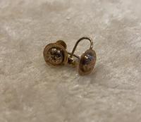 Pair of 9ct. Gold Screw on Earrings. Birmingham 1899 (5 of 5)