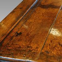 Georgian Oak Inlaid Dresser Base (2 of 11)
