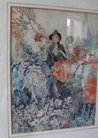 Vintage Original Watercolour - poss. Book Illustration - Yvonne Hind (8 of 8)