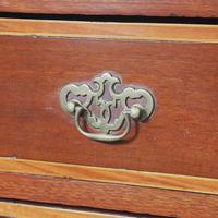 Tall George III Irish Inlaid Mahogany Chest of Drawers (6 of 10)