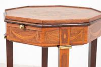 Quality Mahogany Inlaid Urn Stand (6 of 10)