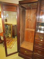 Late Victorian Compactum Triple Wardrobe (4 of 6)