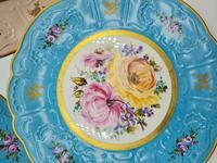 Vintage German Porcelain Plates / Chargers Bavarian /Set of Three (4 of 32)