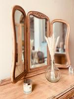 French Antique Style Dressing Table / Vanity Table with Mirror / Desk (2 of 5)