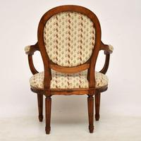 Antique French Carved  Walnut Salon Armchair (13 of 13)