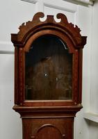 Victorian Inlaid Oak Long Case Clock Case (3 of 8)