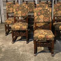 Set of 8 French Oak Dining Chairs (18 of 18)
