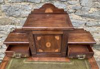 Antique Rosewood Inlaid Writing Desk (6 of 19)