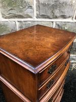 Antique Burr Walnut Chest of Drawers (7 of 8)