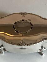 Antique Solid Silver Trinket Box Hallmarked Birmingham 1938 (7 of 12)