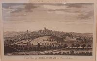 Copper Engraving, East  View of Birmingham, 1780 (2 of 5)