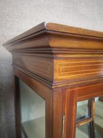 Edwardian Inlaid Mahogany Display / China Cabinet (4 of 10)