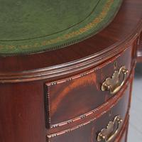 Georgian Style Kidney Shaped Desk by Justice & Sons (4 of 11)
