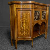 Victorian Rosewood Side Cabinet (15 of 17)