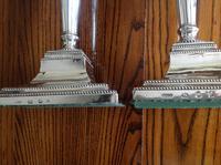 Pair of Antique Georgian Silver Candlesticks - 1780 (4 of 6)