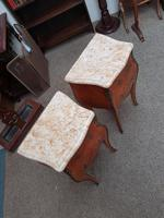Pair of French Marble Top Tables (2 of 6)