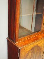 Tall George III Mahogany Cabinet Bookcase (7 of 13)
