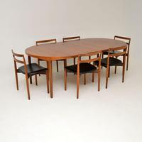 Danish Vintage Teak Dining Table & Chairs by Harry Ostergaard (13 of 14)