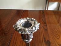 Pair of Ornate Antique Victorian Silver Candlesticks - 1844 / 1845 (4 of 8)