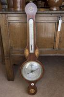 Mercurial Barometer with Satinwood Inlay
