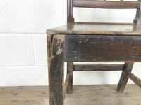 Pair of 19th Century Oak Farmhouse Chairs (9 of 12)
