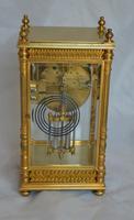 Four Glass Mantel Clock (2 of 6)