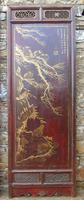 Impressive Pair of Chinese Chinoiserie Lacquered Panels (4 of 10)