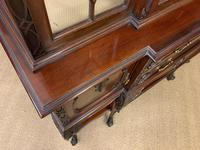 Carved Mahogany Display Cabinet by Warings (18 of 19)
