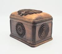 Antique Balian Hand Carved Wooden Box - Highly Ornate (2 of 5)