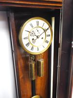 Wow! Antique German Double Weight Walnut 8-Day Vienna Regulator Wall Clock by Gustav Becker (4 of 11)