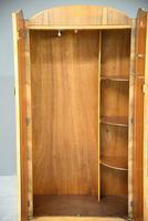 Vintage Walnut Small Wardrobe (6 of 8)