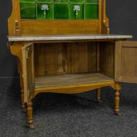 Victorian Oak Washstand (3 of 11)