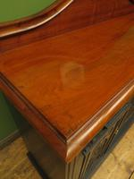 Art Nouveau Black Painted Sideboard, Gothic shabby chic (9 of 16)