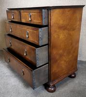 Reproduction Walnut Chest of Drawers In The Style of Queen Anne (4 of 10)