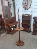 Edwardian Oak Lamp (5 of 5)